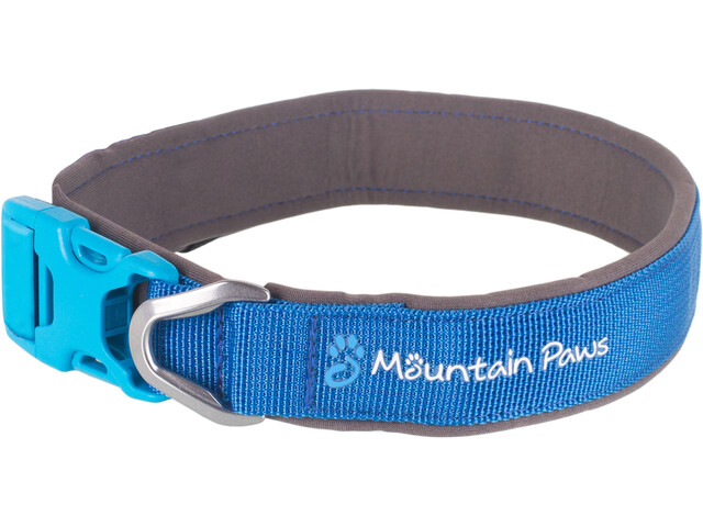 Mountain Paws Hundehalsband XL blau